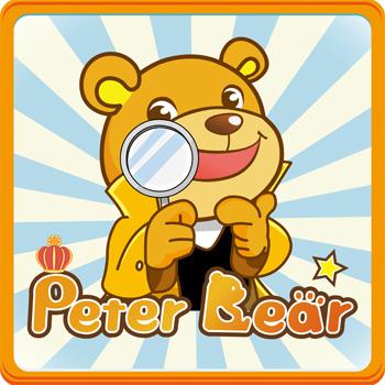 Peter Bear 勇闖單字王APP-櫃檯版 (八冊)