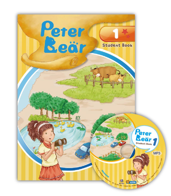 Peter Bear第一冊課本附光碟
