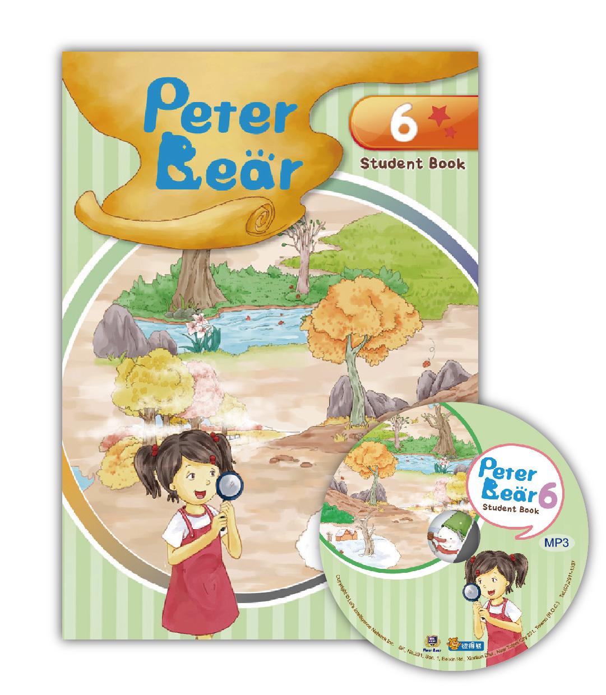 Peter Bear第六冊課本附光碟