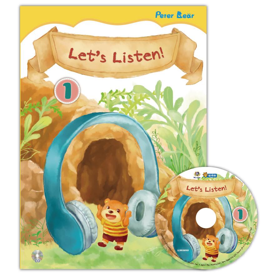 Let's Listen-1+CD聽力小書