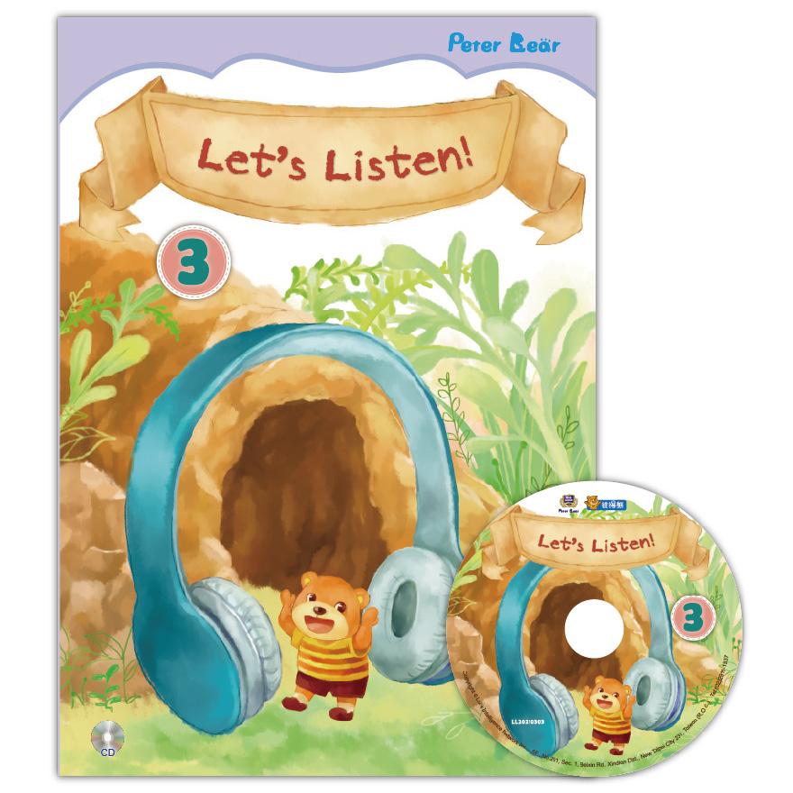 Let's Listen-3+CD聽力小書