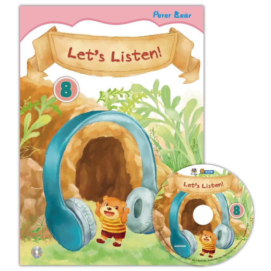 Let's Listen-8+CD聽力小書
