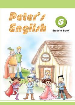 Peter's English第六冊課本附光碟