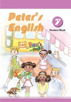 Peter's English第七冊課本附光碟